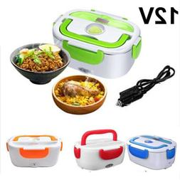 12V 40W Portable Car Truck Electric Heated Heating Lunch Box