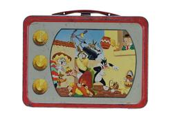 """* 1959 THERMOS BRAND WARNER BROS. PICTURES """" LOONEY TUNES """""""