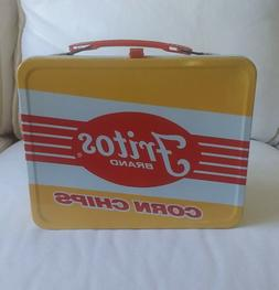 1975 FRITOS Metal Lunchbox UNUSED NEAR MINT King Seely Therm
