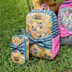 Matilda Jane Backpack And Lunch Bunch Lunchbox Set NWT New I
