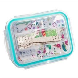 Imperial Home Bento Lunchbox Reusable Container Glass