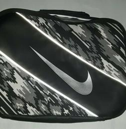 Nike Insulated Lunch Container Camo Gray & Black
