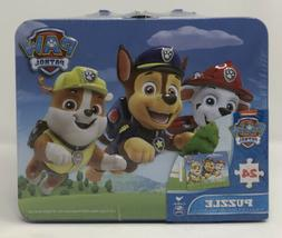 All Paws on Deck Paw Patrol 24 Piece Puzzle in Tin Lunch Box