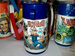 Popeye`1979`Aladdin Lunchbox->Thermos-King Features Syndicat