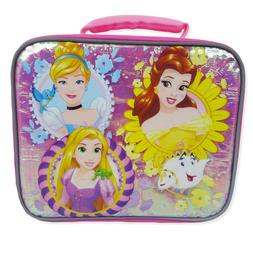Princess School Lunch Box Soft Sided Insulated Cooler Bag by