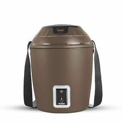 Milton Smart Electric App Enabled Lunchbox, Tiffin - Brown
