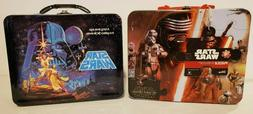 Two Star Wars Tin Lunch Boxes: The Force Awakens Puzzle / 20