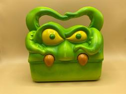 Vintage Creature Features Green Sea Monster Talking Lunchbox